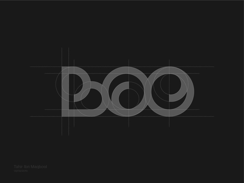 Team Boo Logo Concept dashboards hand drawn logos manual logos design grids process logo sketching symbols modern monogram lines marks logos logo logo design process logo design