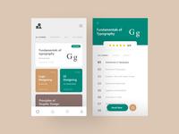 Design Masterclass UI Exploration