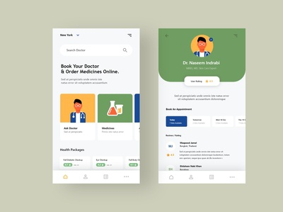 Doctor Booking App Exploration