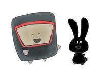 Cosmonaute & Space Bunny