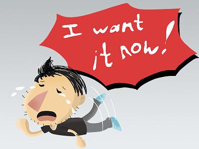I Want It now! chat kawaii cute cry sad icon emoticon emoji social sticker
