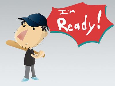 Ready! ready chat kawaii cute happy icon emoticon emoji social sticker