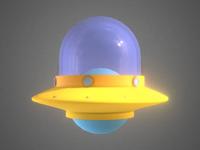 Low Poly UFO