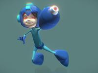 Megaman 3D FanArt