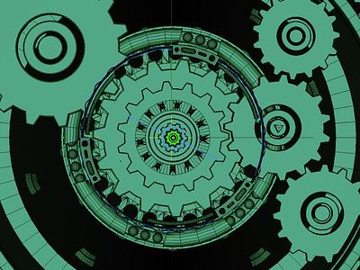 3D Gears design dammne cinema 4d c4d 3d gears