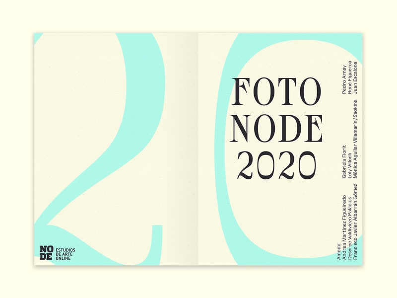 Foto Node 2020 editorial print publication
