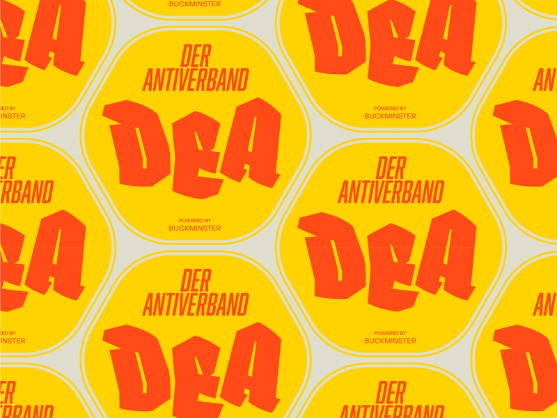 DEA Badge logotype logo branding graphicdesign