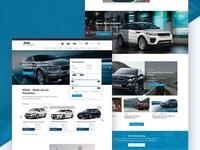 Webdesign Car Dealer