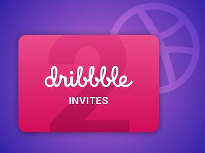 Dribbble Invites invitation new member givaway draft