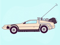 #3 Delorean
