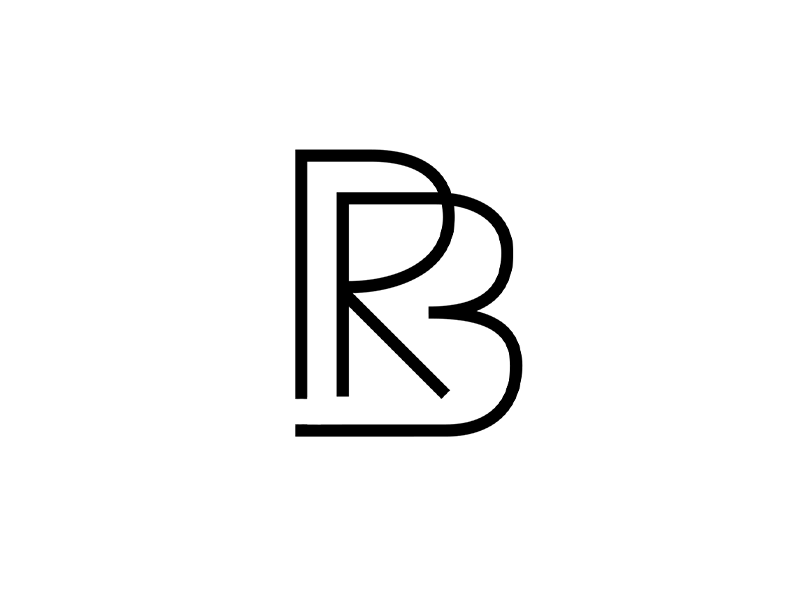 rb monogram by dreams in motion dribbble dribbble. Black Bedroom Furniture Sets. Home Design Ideas