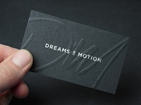 Dreams in Motion Businesscard
