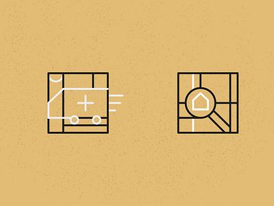 Interior designer icons