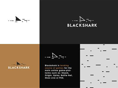 Blackshark logo design branding logodesign logo