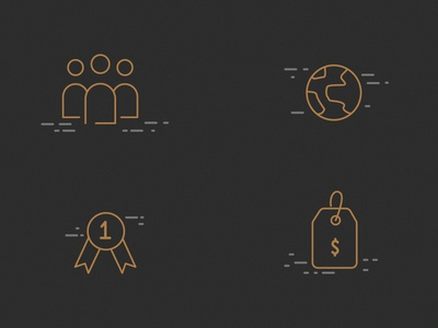 BLACKSARK Icons pictogram icons