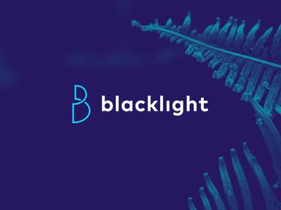 Blacklight Logo logo design logo