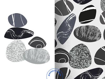 Stone Pattern illustration pattern pattern design