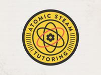 Atomic Steam Tutoring Logo
