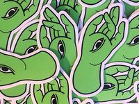 Mudra Stickers