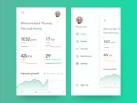 Side Menu - Invest App