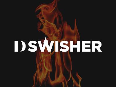 Dswisher Logo branding logo design logotype logo idenity artist band rap band logo hip hop