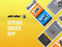 Skidoo | Spring Order App