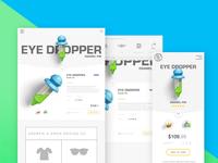 Andrew & Drew Design Co. Ecommerce Layout