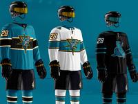 2019 San Jose Sharks Jersey Redesign