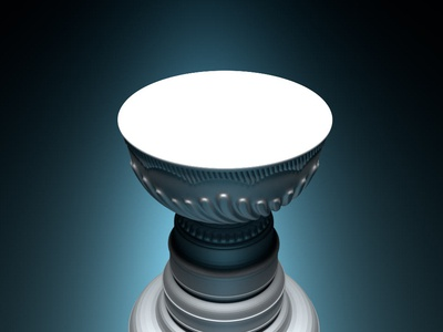 Toy Render of Stanley Cup corona render 3d art 3d sports michigan nhl hockey