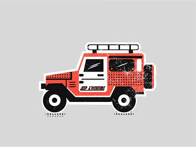 Jeep Club design jeep mountain sketch adventure logo vector line art retro adventure badge illustration