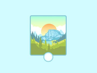 Sindoro Mount logo logo design branding adventure logo line art flat retro mountain adventure badge vector illustration