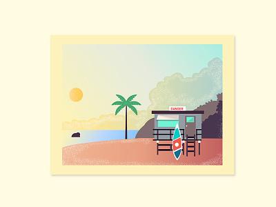 Sea simple character summer sea design flat line art vector illustration
