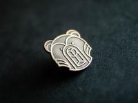 Bear pin | Lapel pin geometric logo bears enamelpin monoweight geometric vector pin lapelpin bear