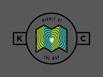 Middle of the Map | T-shirt Design