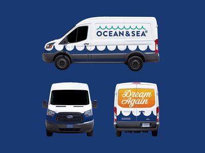 Ocean & Sea | Transit T-250 Van Wrap