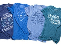 New Ocean & Sea Tees