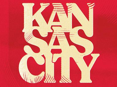 Daydream 187: KAN-SAS CITY showtime mahomes typography super bowl nfl football kansas city chiefs