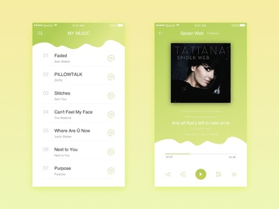 music player player app music