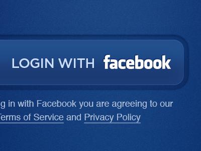 Facebook Login button facebook