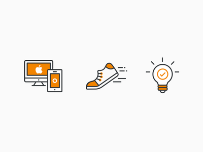 AfterShip Culture Icons website brand work mobile mac ui action device idea illustration icon aftership