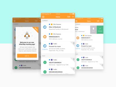 AfterShip iOS App