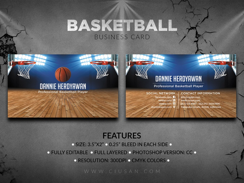 Basketball Business Card concept competition company color collection club championship champion card business boxing basketball basket banner ball background art advertising abstract