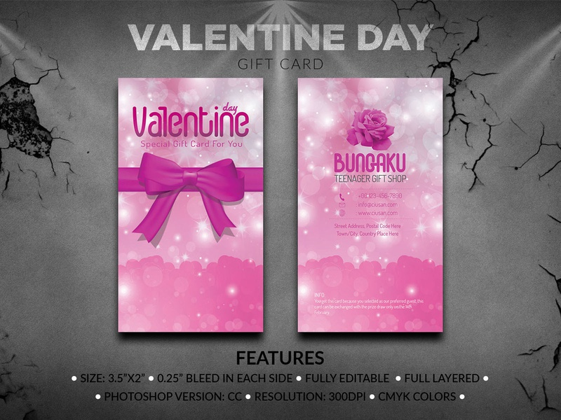 Valentine Day Gift Card happy greeting girl gift frame february design decoration day creative concept celebration card brochure birthday beautiful banner balloon background