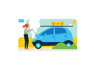 Car Breakdown designs, themes, templates and downloadable graphic elements on Dribbble