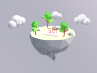 Hello Low Poly