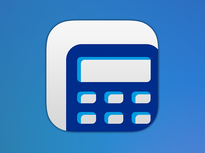 FeeCalc iOS app icon ios icon paypal