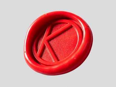 Stamp logo design abstract cinema4d 3d motion animation