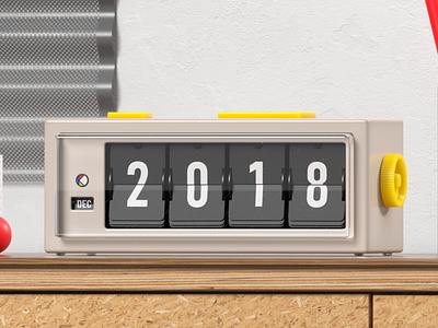2019, Finally. 2019 octanerender c4d cinema 4d illustration cinema4d 3d 2d motion animation