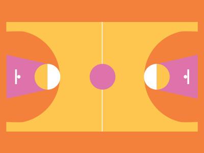 Basket flat sport basket