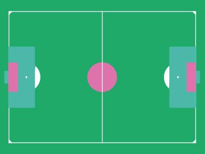 Football flat game football sport